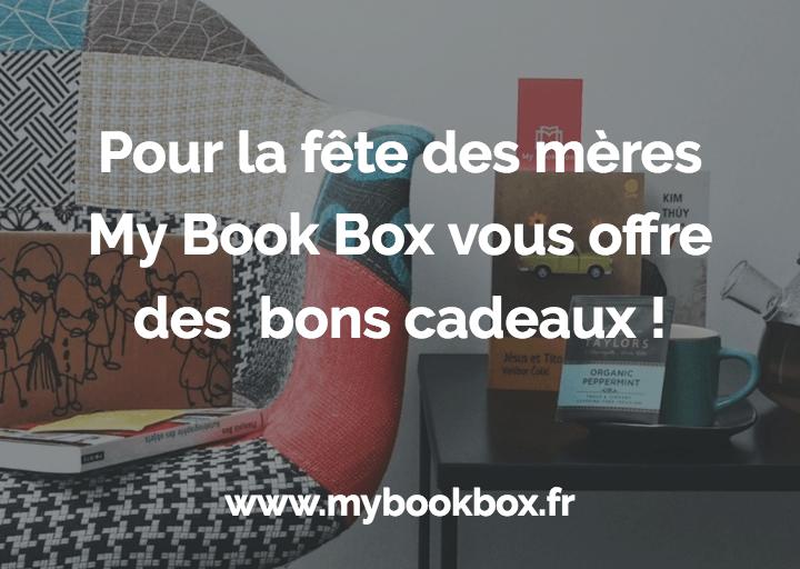 Pour la fête des mères, My Book Box vous fait des cadeaux !