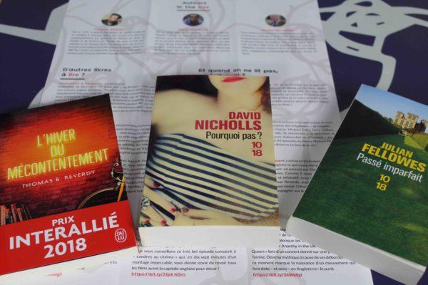 brochure:3 livres